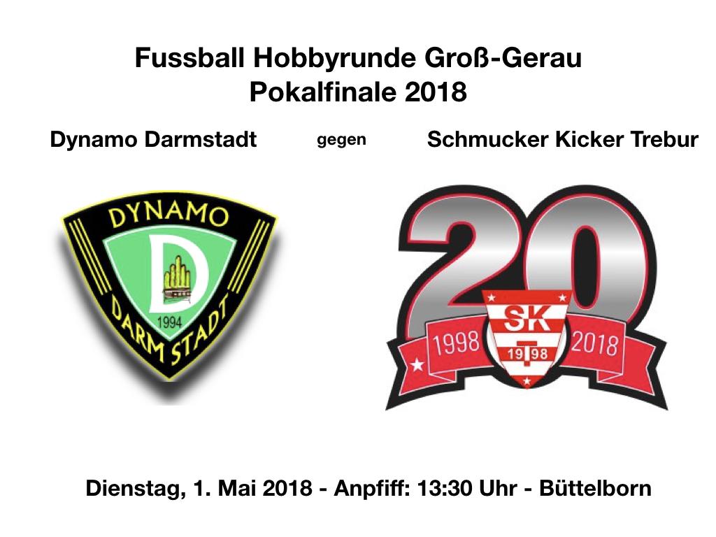 Pokalfinale 1. Mai 2018