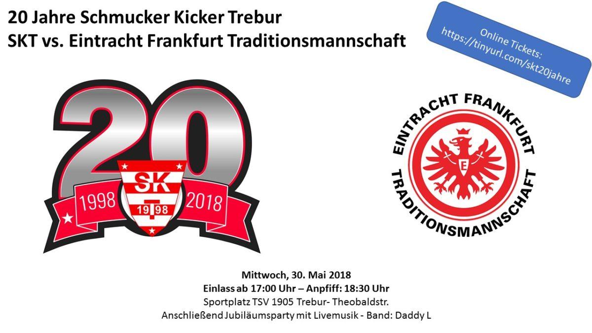 Online Tickets für das Spiel gegen Eintracht Frankfurt
