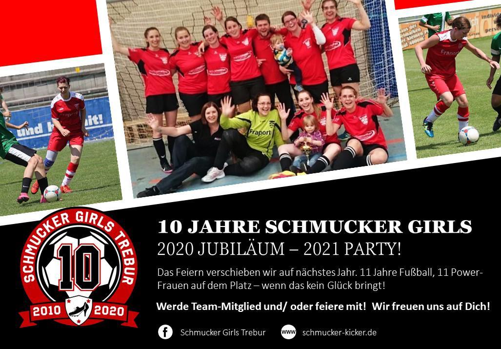 10 Jahre Schmucker Girls: 2020 Jubiläum – 2021 Party